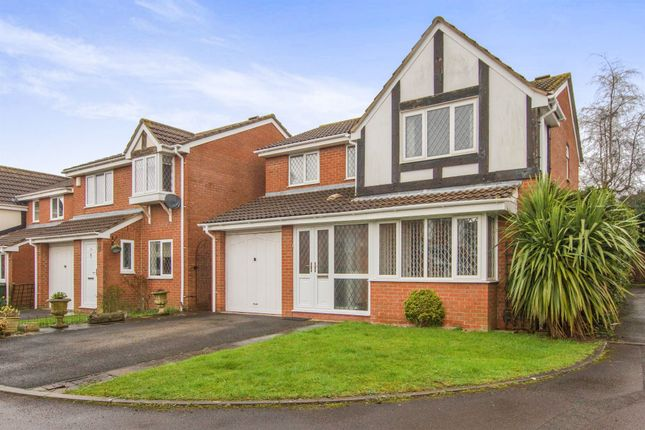 Thumbnail Detached house for sale in Brins Close, Stoke Gifford, Bristol