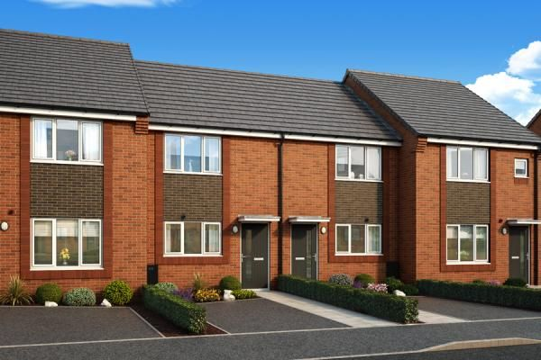 "Thumbnail Property for sale in ""The Haxby At Mill Brow"" at Central Avenue, Speke, Liverpool"