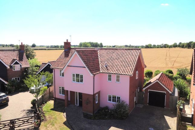 Thumbnail Detached house for sale in Tudor Court, Westhorpe, Stowmarket