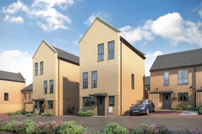 Thumbnail End terrace house for sale in The Woodward At Atelier, Keaton Way, Off Commonside Road, Harlow, Essex