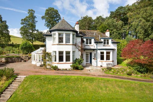 Thumbnail 4 bed detached house for sale in Broughton, Biggar