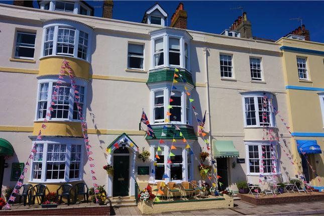 Thumbnail Terraced house for sale in 10 Brunswick Terrace, Weymouth