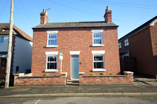Thumbnail Detached house for sale in St. Thomas's Road, Great Glen, Leicester