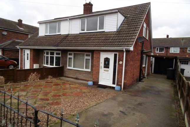 Thumbnail Semi-detached house to rent in Abbey Way, Dunscroft, Doncaster