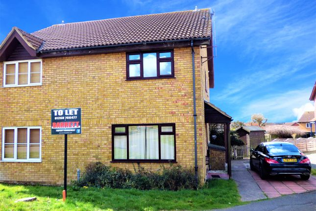 1 bed terraced house to rent in Broad Oaks, Wickford, Essex SS12