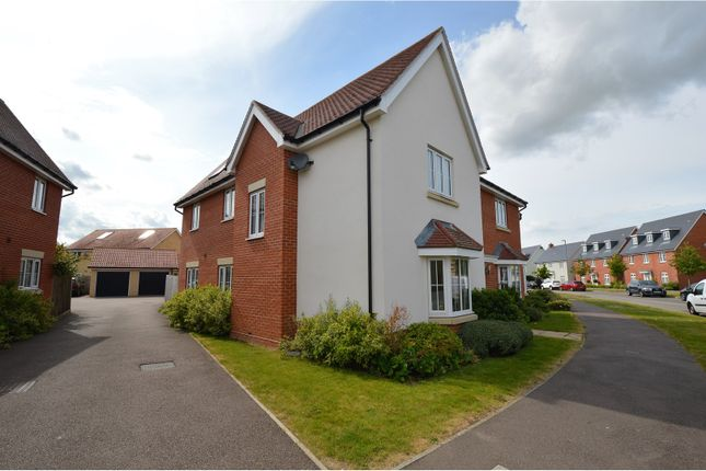 Thumbnail Detached house for sale in Burgattes Road, Dunmow