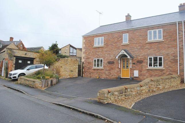 Thumbnail Semi-detached house for sale in High Street, Little Addington, Kettering
