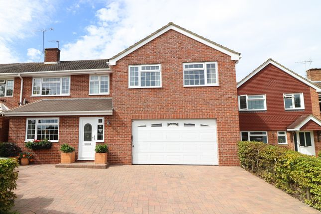 Thumbnail Semi-detached house for sale in Waterbeech Drive, Hedge End, Southampton