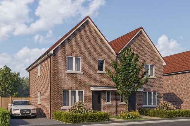 Thumbnail Semi-detached house for sale in Cinders Lane, Yapton, Arundel