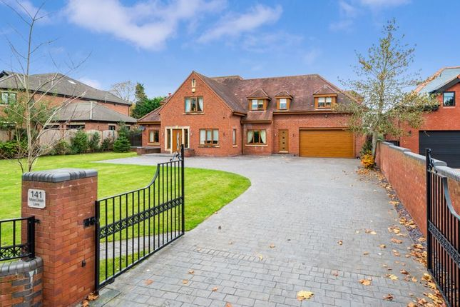 Thumbnail Detached house for sale in Moss Delph Lane, Aughton, Ormskirk