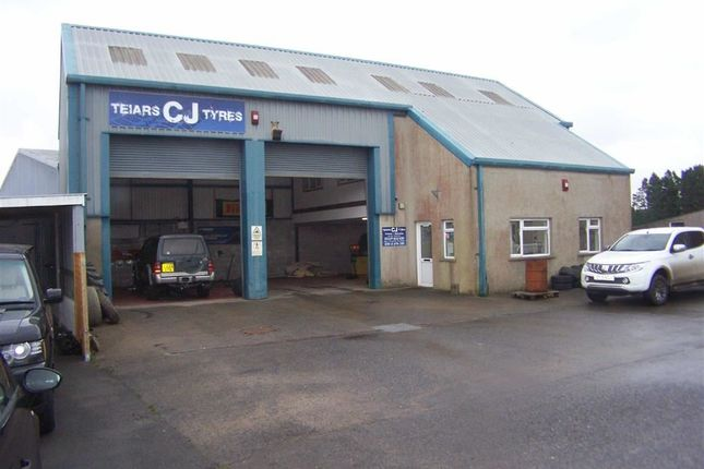 Thumbnail Commercial property for sale in Newport Road, Crymych, Pembrokeshire