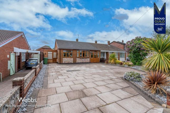 2 bed semi-detached bungalow for sale in Huthill Lane, Great Wyrley, Walsall WS6