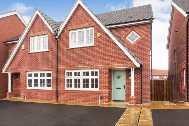 Thumbnail Semi-detached house for sale in Miller Meadow, Telford