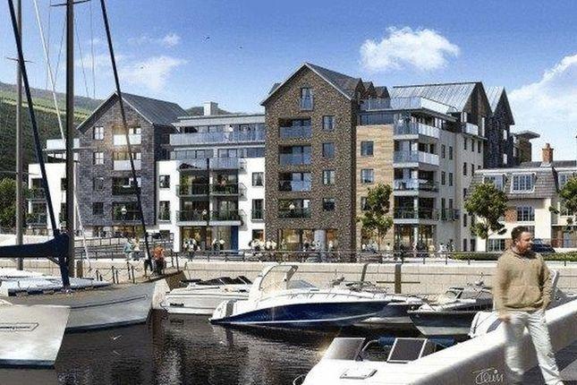 Thumbnail Flat for sale in 21 Quay West Apartments, Bridge Road, Douglas