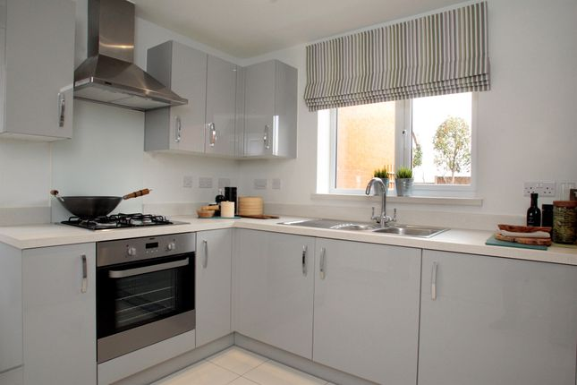 Thumbnail Semi-detached house for sale in Manor House Park, The Great Ouse Way, Biddenham