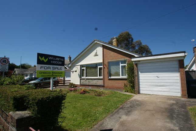 Thumbnail Detached bungalow for sale in Penwill Way, Paignton