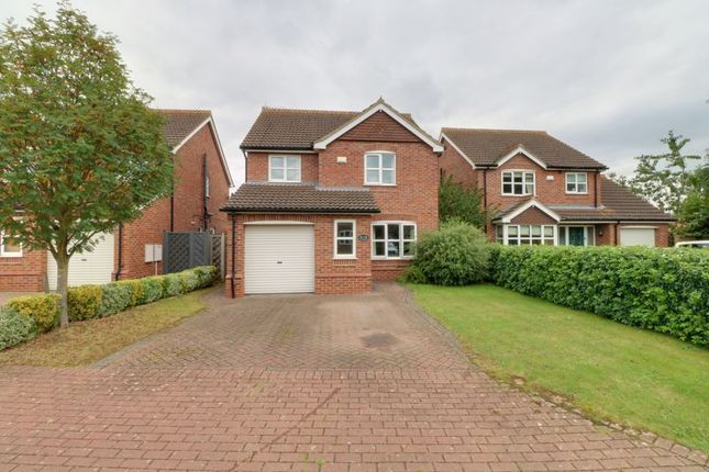 Thumbnail Detached house for sale in Worsley Paddock, Ulceby