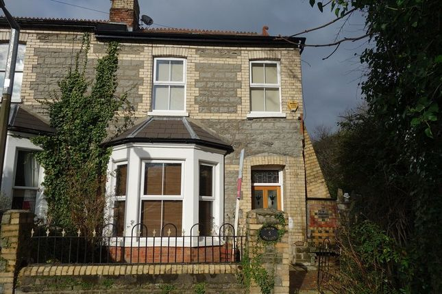 Thumbnail Terraced house to rent in Station Terrace, Penarth