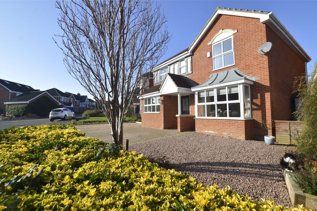 Thumbnail Detached house for sale in Abbey Meadow, Tewkesbury, Gloucestershire