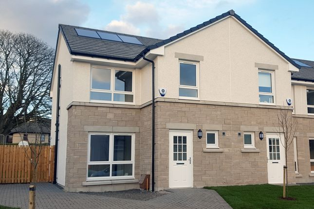 "3 bedroom terraced house for sale in Plot 53 ""The Brora"" Castlegate Avenue, Dumbarton"