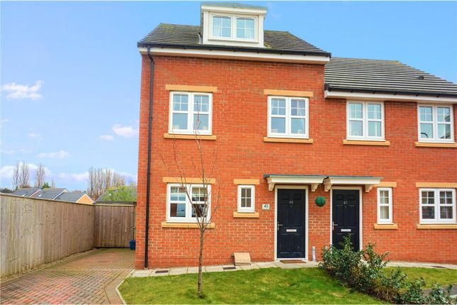 Thumbnail Semi-detached house for sale in Lismore Gardens, Thornaby, Stockton-On-Tees