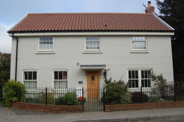 Thumbnail Detached house for sale in Station Road, Melton, Woodbridge