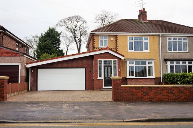 Thumbnail Semi-detached house for sale in Liverpool Road North, Liverpool