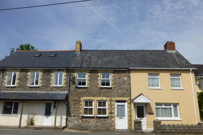 Thumbnail Terraced house to rent in Davies Street, Pencader
