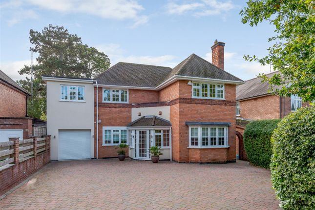 Thumbnail Detached house for sale in Leicester Road, Glenfield, Leics