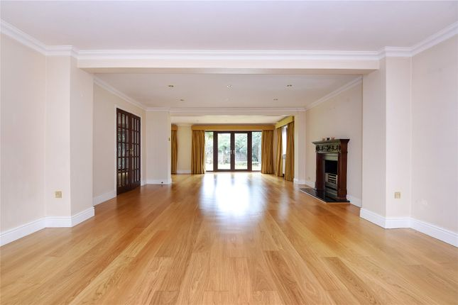 Thumbnail Detached house to rent in Pine Avenue, Camberley, Surrey
