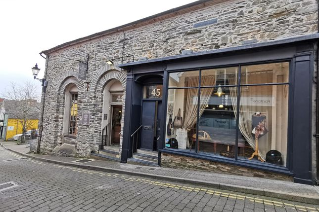 Commercial property for sale in St. Mary Street, Cardigan