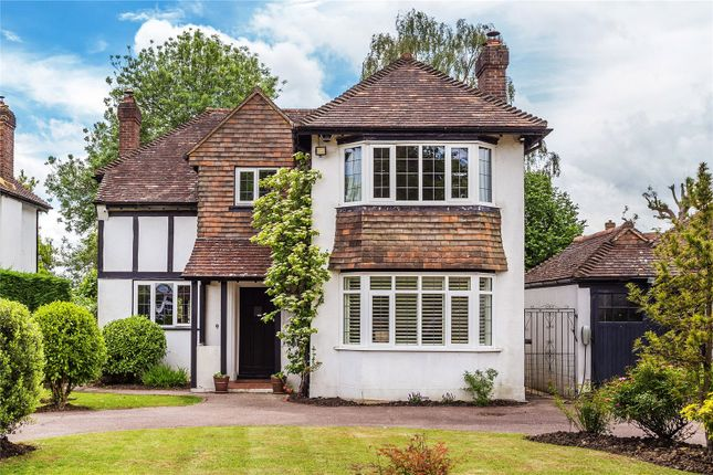 Thumbnail Detached house for sale in Bushetts Grove, Merstham, Redhill, Surrey