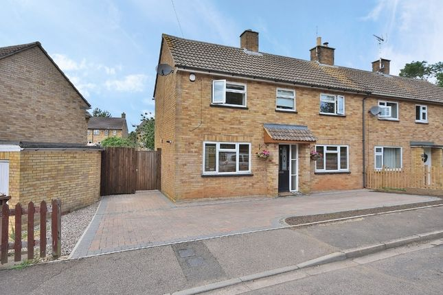 Semi-detached house for sale in Franklins Close, Ecton, Northampton