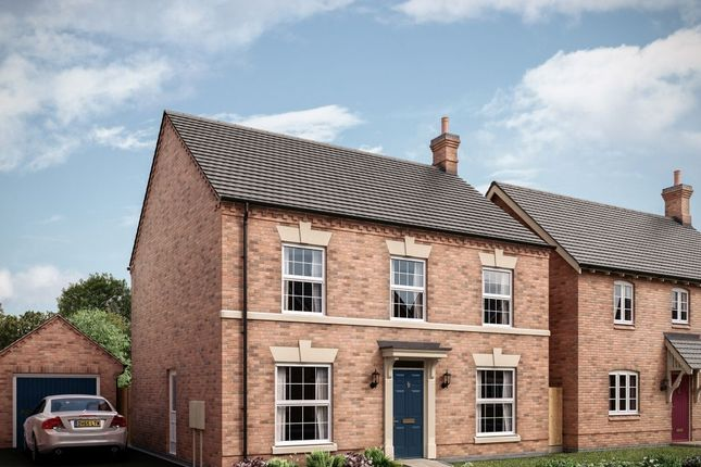 "Thumbnail Detached house for sale in ""The Barnwell"" at Nottingham Road, Melton Mowbray"