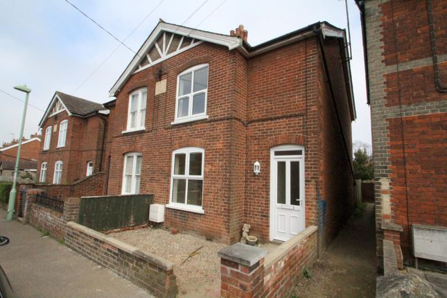 Thumbnail Semi-detached house to rent in Central Road, Leiston