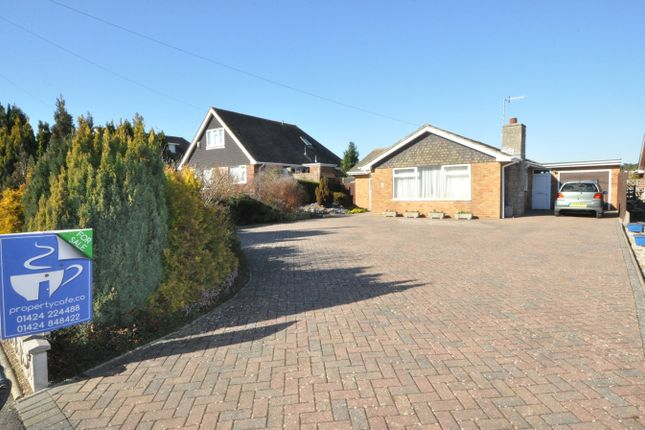 Thumbnail Detached bungalow for sale in Pebsham Lane, Bexhill-On-Sea