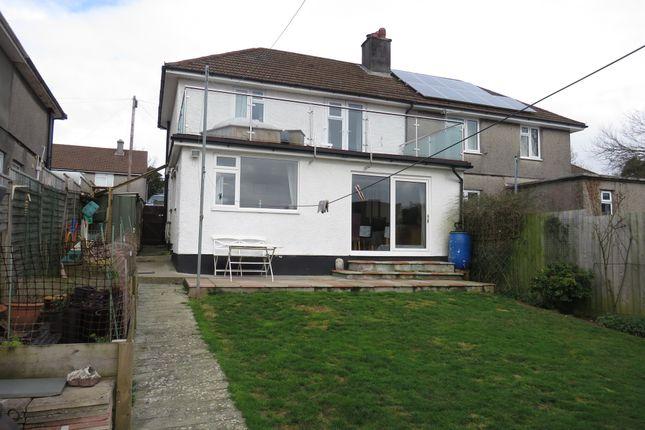 Thumbnail Semi-detached house for sale in Wren Gardens, Plympton, Plymouth