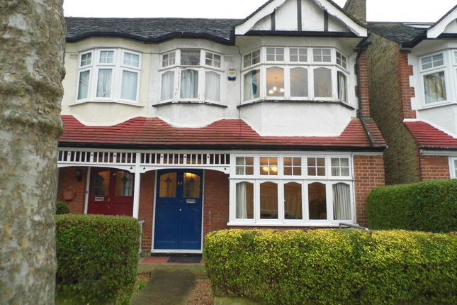 Thumbnail End terrace house for sale in Bagshot Road, Bush Hill Park