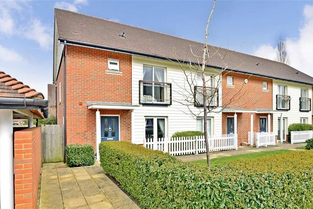 Thumbnail End terrace house for sale in Jeremiah Court, Redhill, Surrey