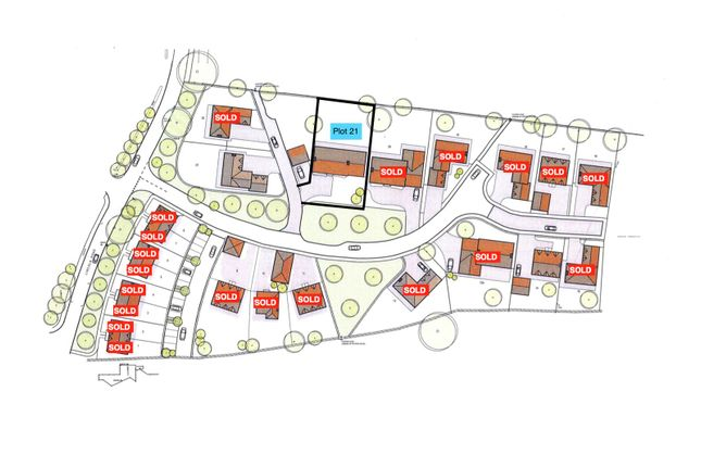 Site Plan.Png of Middle Lane, Thorpe-On-The-Hill, Lincoln LN6