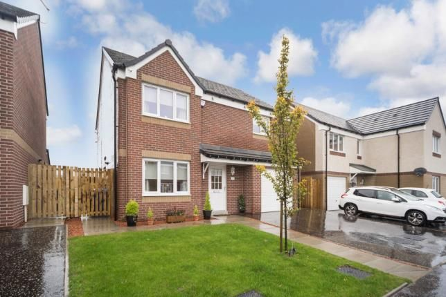 Thumbnail Detached house for sale in Hallhill Circle, Johnstone, Renfrewshire