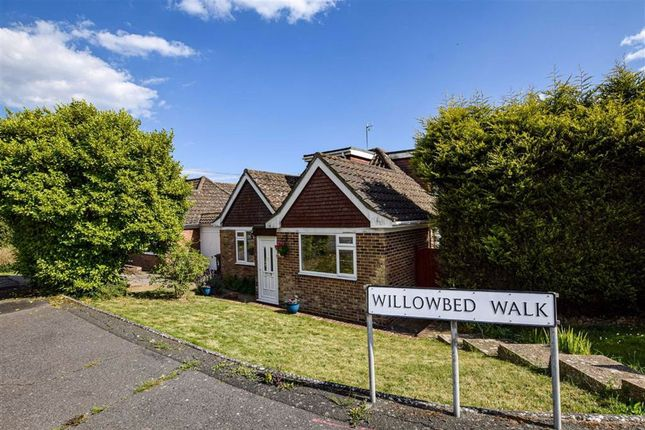 Thumbnail Detached bungalow for sale in Willowbed Walk, Hastings, East Sussex