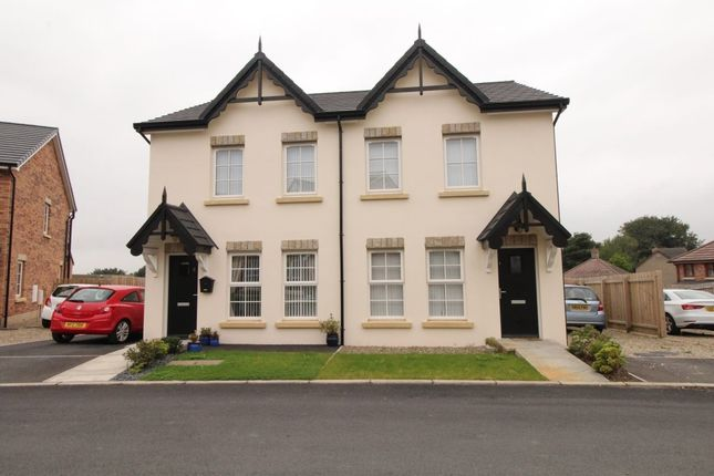 Thumbnail Semi-detached house to rent in River Hill Close, Newtownards