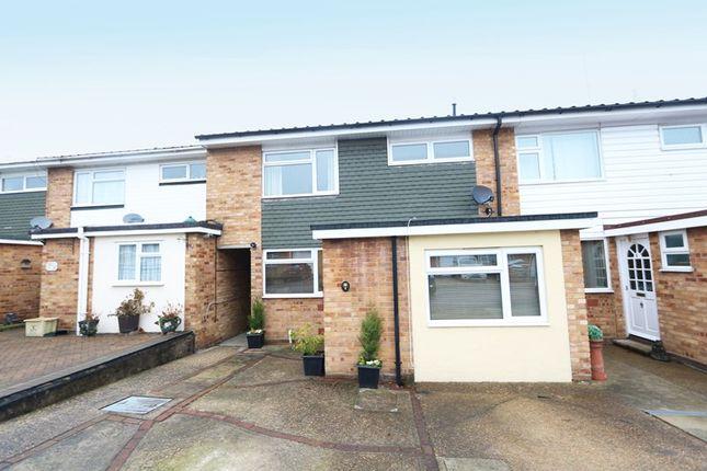 Thumbnail Terraced house for sale in Drake Close, Benfleet