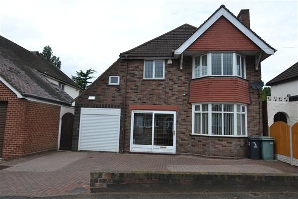 Thumbnail Detached house for sale in Bescot Drive, Walsall