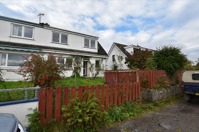 Semi-detached house for sale in Isle Of Lismore, Oban