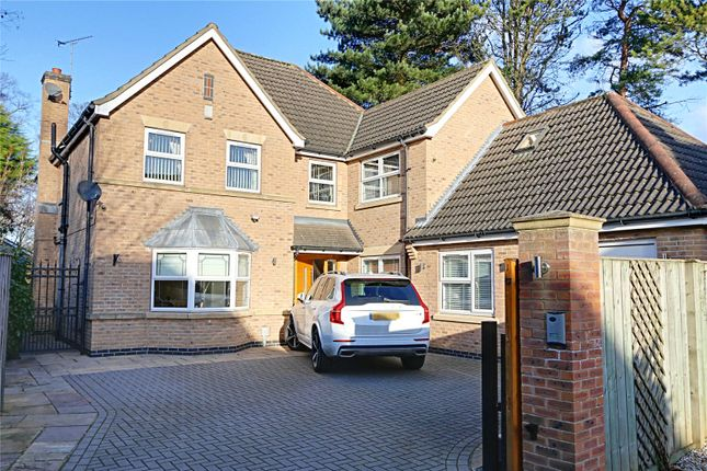 Thumbnail Detached house for sale in West Leys Road, Swanland, North Ferriby, East Riding Of Yorkshire