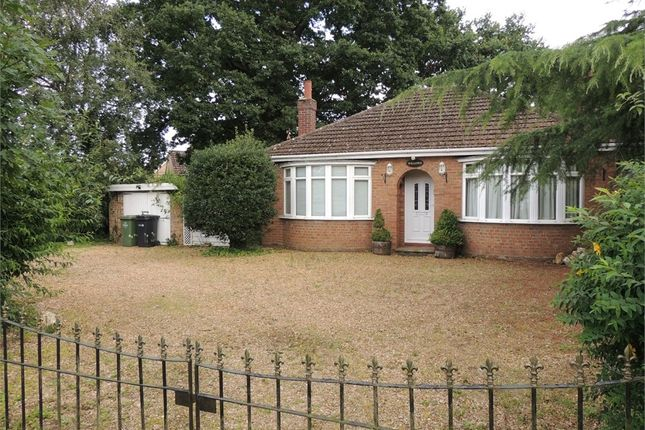 Thumbnail Detached bungalow for sale in Rabbit Lane, Downham Market