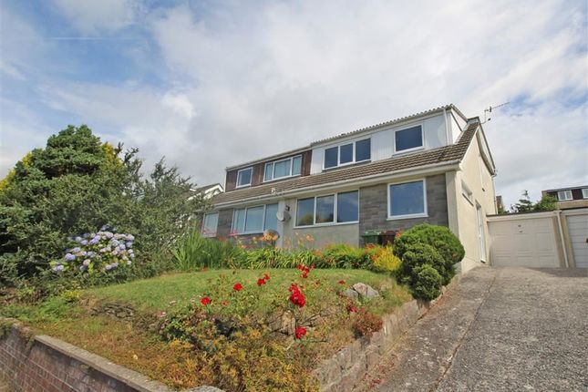 Thumbnail Semi-detached house for sale in Dudley Gardens, Eggbuckland, Plymouth