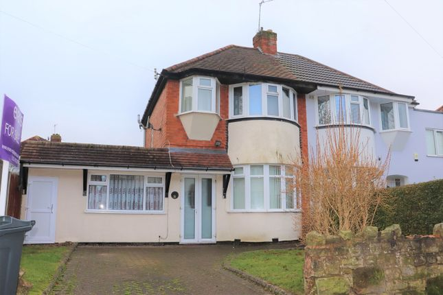 Thumbnail Semi-detached house for sale in Glenwood Road, Birmingham